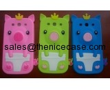 Cute Pig Silicone Cell Phone Cases