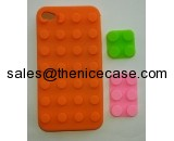 toy bricks silicone cell phone cases