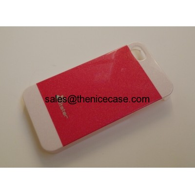 pearl powder iphone 5 cases, TPU PC cases IMD tech. OEM